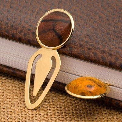 Artisan Bookmarks l Gold