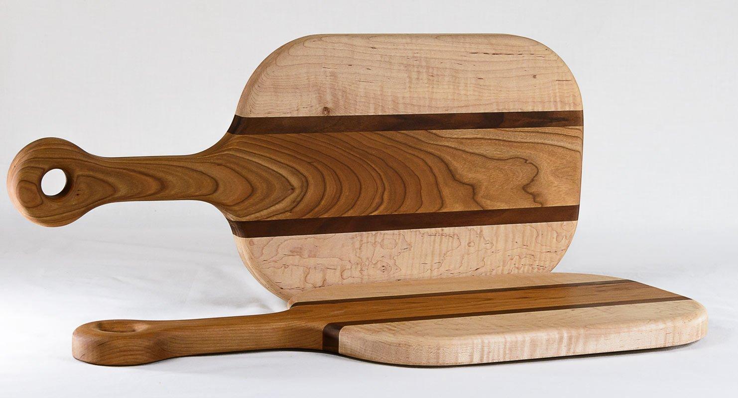 Breadboards with Handle — Maple - Cherry - Walnut — Profiles