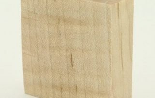 Stabilized Curly Maple — Natural