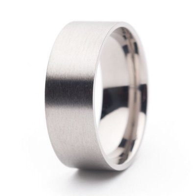 Titanium Ring Core — 8 mm